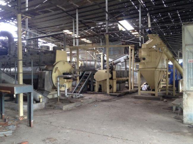 thanh lý dây chuyền sản xuất gạch