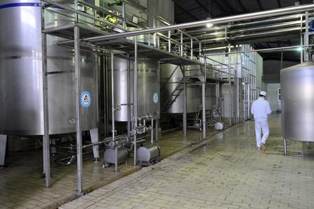 thanh lý dây chuyền sản xuất bia