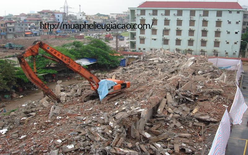 hình ảnh Thu mua xác nhà khu dân cư, xí nghiệp